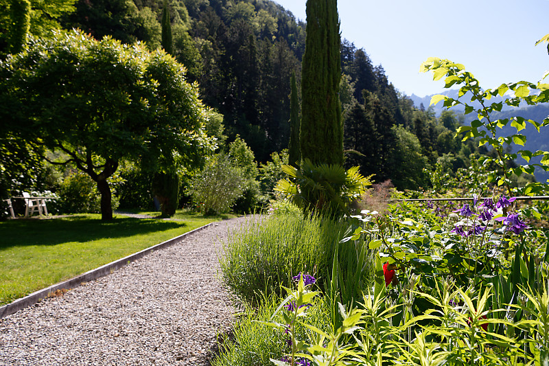Ansicht Klostergarten